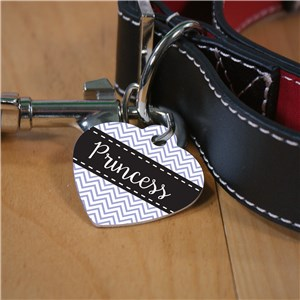 Heart Shaped Dog Tag | Personalized Dog Tags