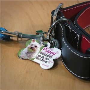 Personalized Paw and Bone Pet Tag | Personalized Dog Tags For Pets
