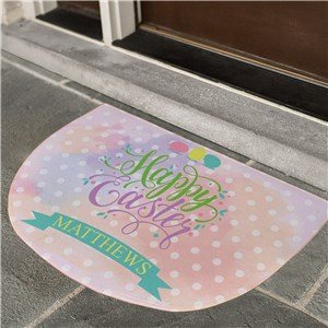 Easter Door Mats | Personalized Easter Decor