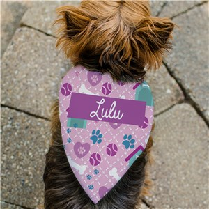 Personalized Dog Toys Pet Bandana | Personalized Pet Bandanas