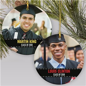 Personalized Photo Graduation Ornament | Graduation Gifts