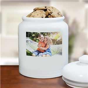 Ceramic Photo Cookie Jar | Personalized Cookie Jars