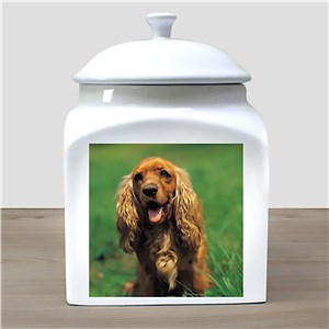 Photo Ceramic Pet Urn | Pet Photo Urn