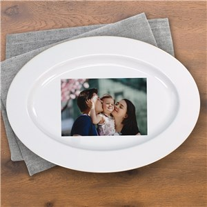 Photo Ceramic Serving Platter | Personalized Photo Gifts