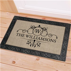 Personalized Family Name Doormat | Personalized Door Mat