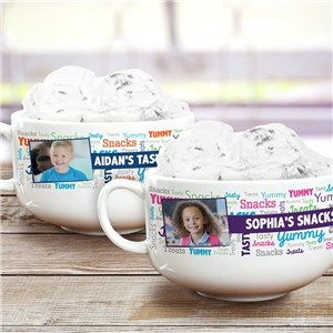 Personalized Photo Ice Cream Bowl | Personalized Photo Gifts