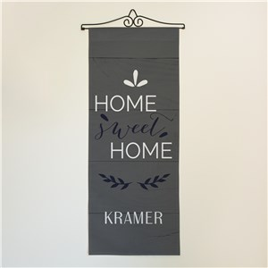 Personalized Home Sweet Home Wall Hanging