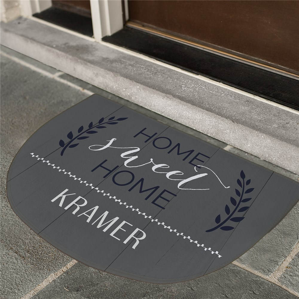 Home Sweet Home Decor | Personalized Doormats For Home