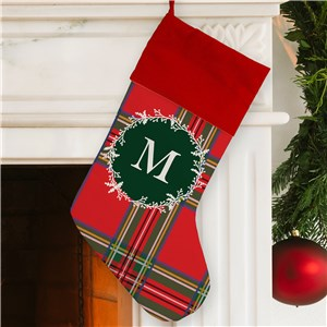 Christmas Stocking | Plaid Christmas Stockings