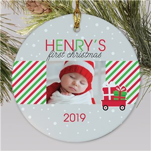 Baby Photo Ornament | Baby's First Ornament With Photo