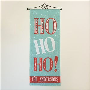 Retro Christmas Decorations | Blue and Red Wall Christmas Hangings