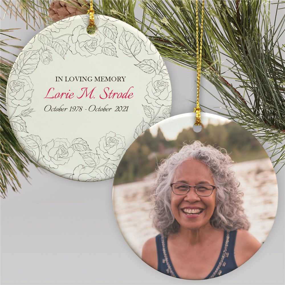 In Loving Memory Ornament | Memorial Ornament With Photo