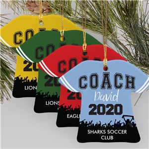 Coach Shirt Ornament | Gifts For Coaches