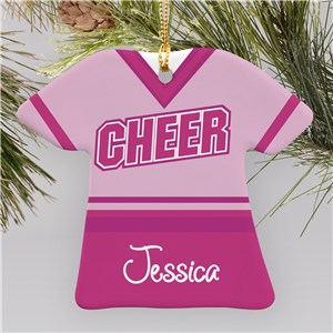 Personalized Cheerleader Ornament | Cheerleader Gifts