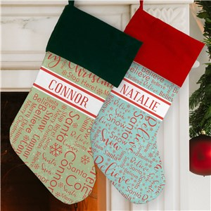 Personalized Christmas Stockings | Unique Stockings