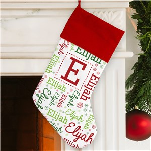 Elf Stockings | Personalized Christmas Stocking