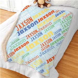 Personalized Kids Blankets | Kids Name Blankets
