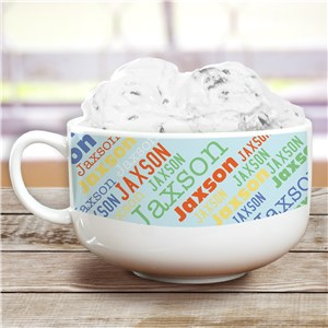 Personalized Ice Cream Bowl | Kids Ice Cream Bowl