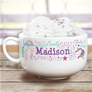 Personalized Ice Cream Bowls | Unicorn Personalized Gifts