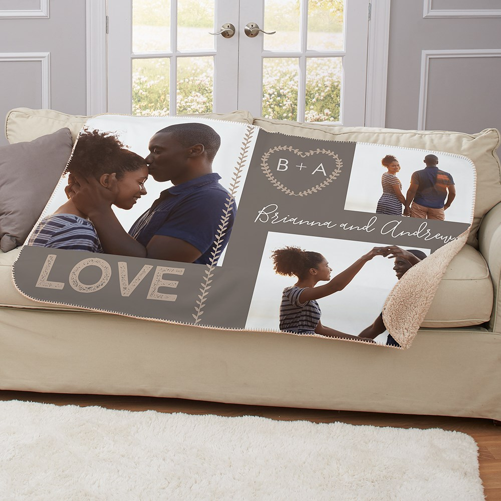 Personalized Blankets | Special Valentine's Day Gifts