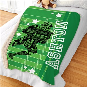 Kid's Sports Blanket | Personalized Sports Blankets