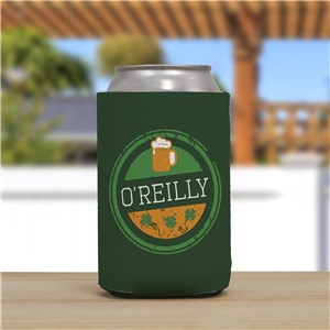 Custom Can Cooler | Irish Bar Gifts