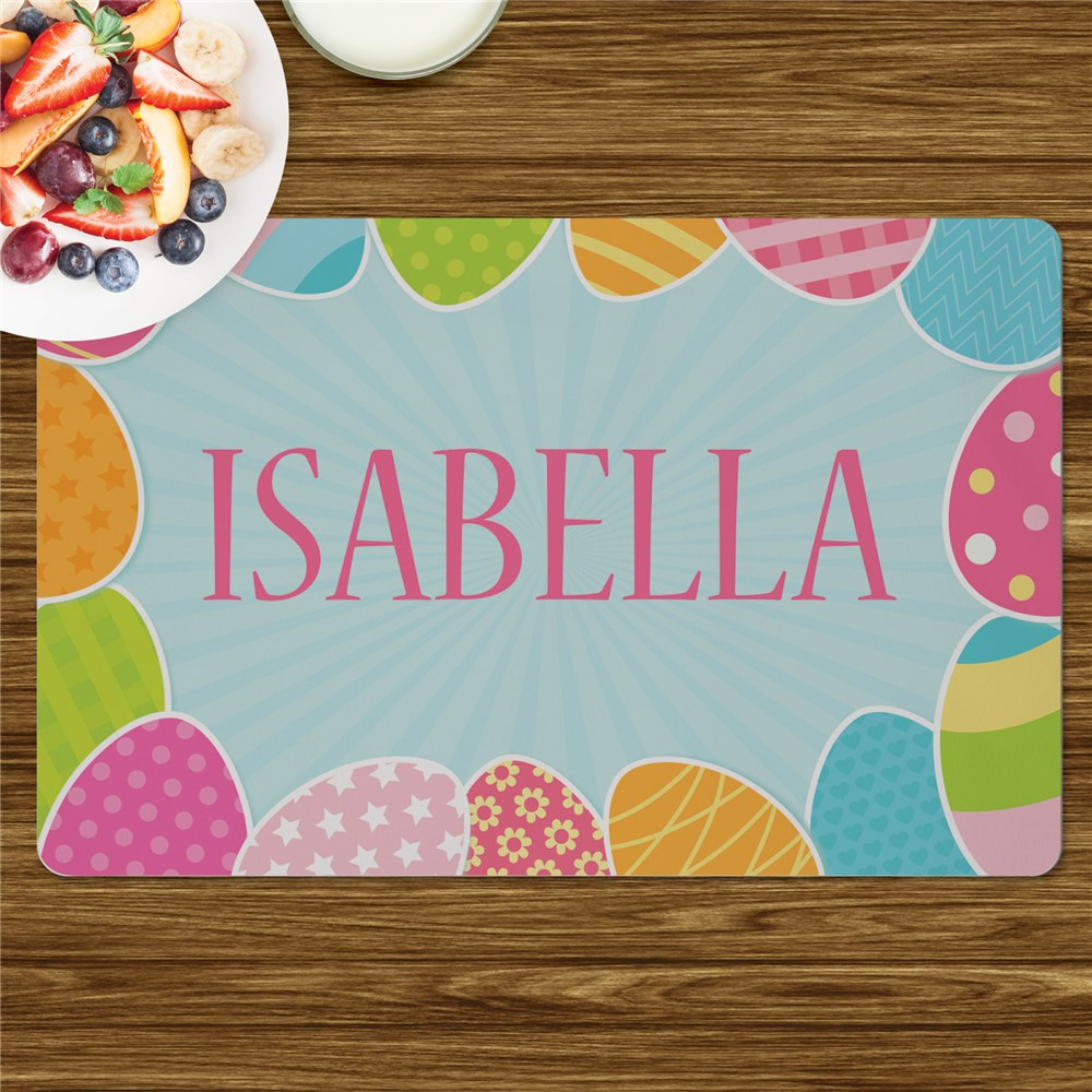 Personalized Placemats For Kids | Easter Placemats