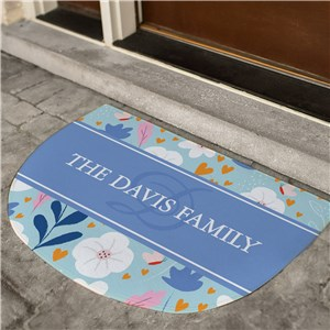Personalized Doormats | Welcome Mat for Spring