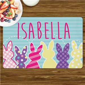 Personalized Placemats For Kids | Easter Placemat