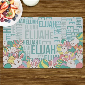 Personalized Easter Decor | Easter Placemats For Kids