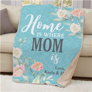 Personalized Blanket For Mom | Oversized Blankets Personalized