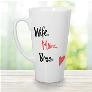 Wife Mom Boss Gifts | Cool Mugs For Mom