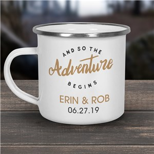 Personalized Camping Mugs | Wedding Gifts For Campers