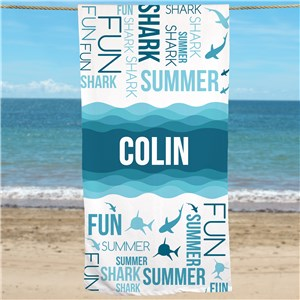 Personalized Beach Towels | Ocean Themed Towels