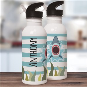 Personalized Kids Water Bottles | Shark Gifts For Kids