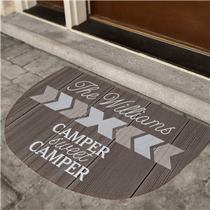 Personalized Doormats | Chevron Doormat