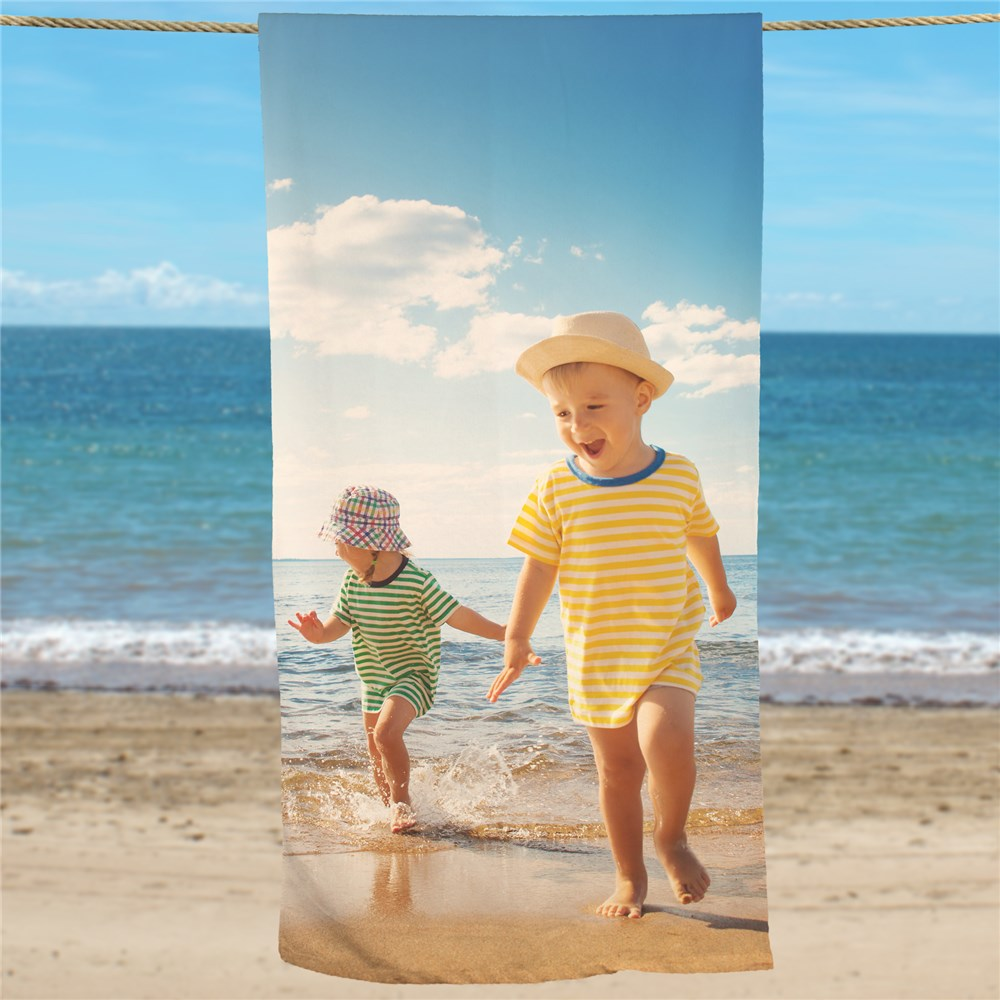 Picture Perfect Photo Beach Towel U147333