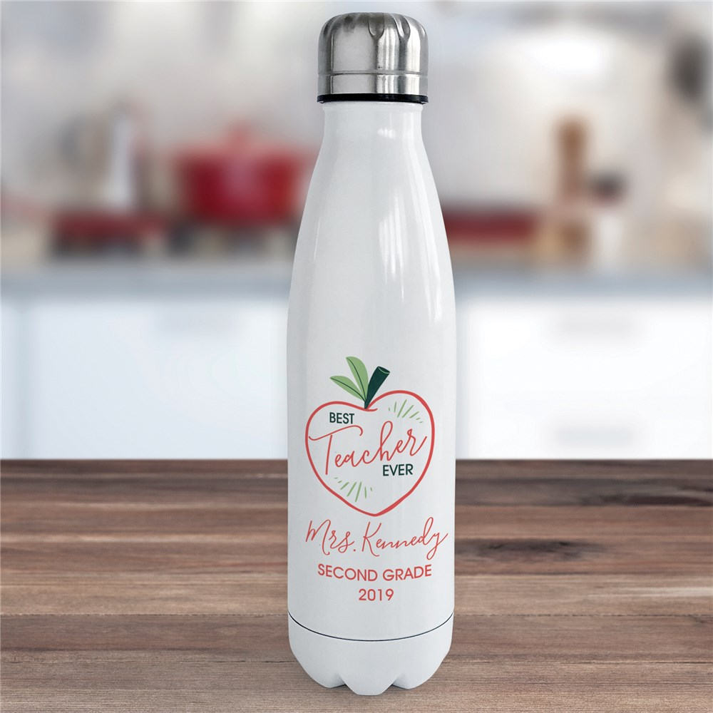 Personalized Water Bottle | Useful Teacher Gifts