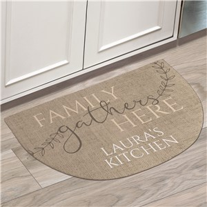 Personalized Doormats | Personalized Gather Here Doormat