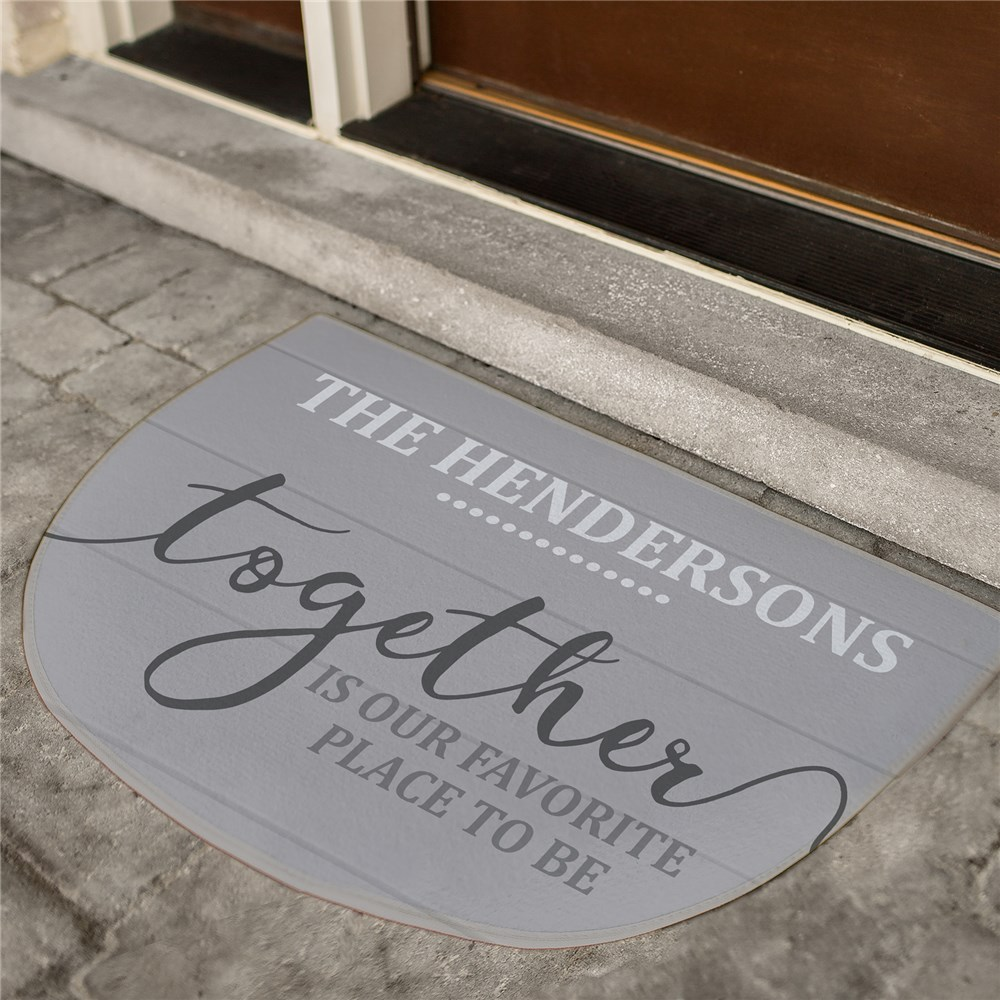 Personalized Doormats | Together Is Our Favorite Decor