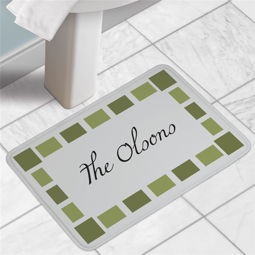 Personalized Bath Mat | Customized Home Decor