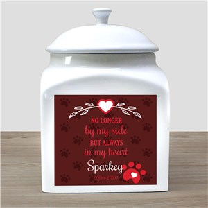Pet Memorial Gifts | Personalized In My Heart Pet Urn
