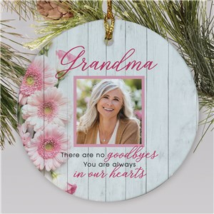 Personalized Memorial Ornaments | Photo Memorial Christmas Ornament