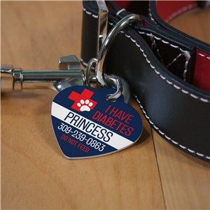 Med Alert Dog Tag | Personalized Medical Pet Tag