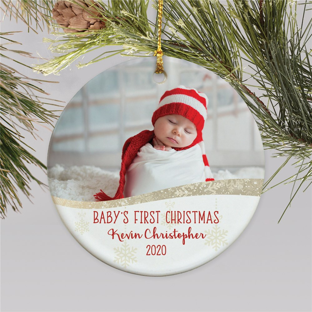 Picture Ornaments | Personalized Baby Photo Ornament