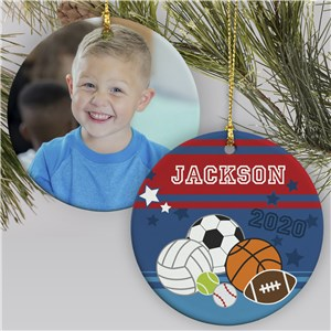Kids Sport Ornament | Photo Ornament For Kids Sports