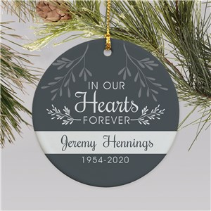 Memorial Ornaments | Personalized Ornament For Sympathy Keepsake