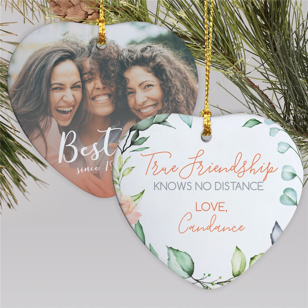 Best Friends Ornaments | Photo Ornaments To Give To Friends