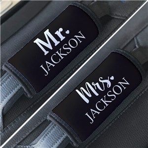 Personalized Couple Luggage Grabber | Mr. and Mrs. Wedding Gifts