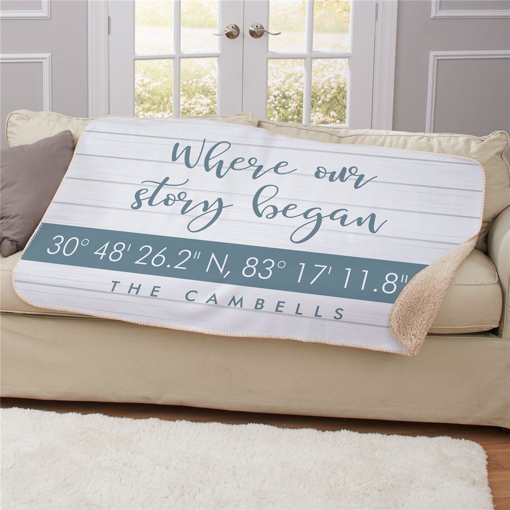 Personalized Blankets | Unique Housewarming Gifts